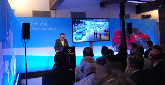 Mercedes-Benz apunta al liderazgo absoluto en el mercado de las furgonetas medianas con su nueva Vito