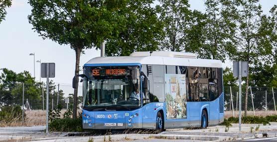 La EMT aumenta el servicio especial de buses 'Mar de Cristal-Valdebebas' para atender a su creciente demanda
