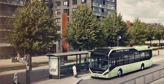Volvo Buses se presenta en la IAA con su híbrido eléctrico y la promesa del 100% eléctrico para 2015
