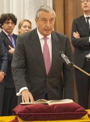 Julio Gómez-Pomar jura su cargo como secretario de Estado de Transportes en sustitución de Catalá