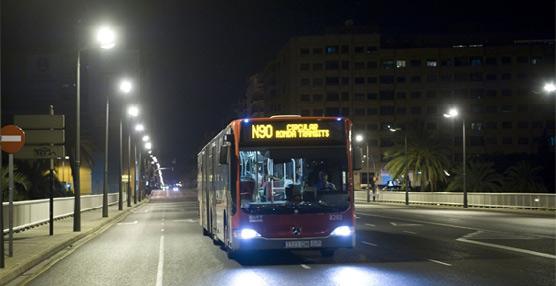 EMT Valencia consigue 350.000 viajeros más el pasado septiembre en comparación con el mismo mes del año anterior