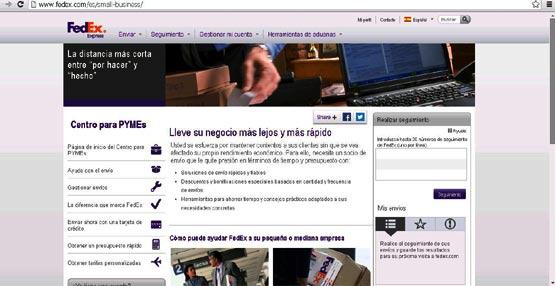 FedEx lanza el Small Business Center en España, plataforma online dirigida a pequeñas y medianas empresas