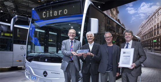 El Mercedes-Benz Citaro, premiado con el International Bus & Coach Competition 2014