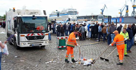 La empresa SRH elige más de 240 vehículos con transmisiones automáticas Allison para limpiar las calles de Hamburgo