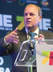 José Antonio Monago, presidente extremeño: 'Nos vamos a convertir en una referencia logística dentro de Europa'