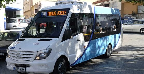 Málaga estrena dos microbuses con la última tecnología ecológica y una mayor accesibilidad