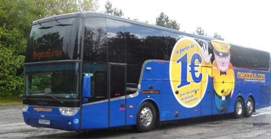 Megabus aplaude la decisión del Gobierno galo de liberalizar el transporte por autocar en Francia
