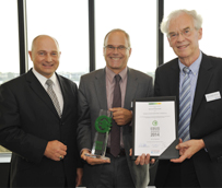 Spheros recibe un premio por su contribución ambiental al desarrollo de los vehículos eléctricos