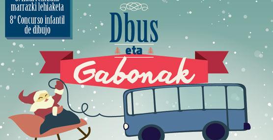 VIII concurso infantil de dibujo 'Dbus eta Gabonak'