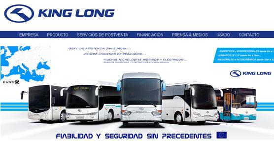 King Long estrena web con motivo de la FIAA 2014