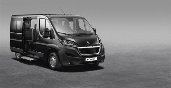 El nuevo Peugeot Boxer Combi ofreceun diseño moderno con espacio hasta para nueve pasajeros