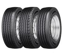 Continental recomienda equipar los ejes de autobuses y camiones con neumáticos de especiales de invierno