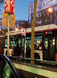 El precio del transporte público en Barcelona es un 43% superior al de la capital española.