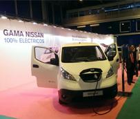 Nissan presenta sus soluciones de movilidad sostenible en el Salón Internacional Matelec celebrado en Ifema, Madrid
