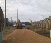 Andalucía inicia las obras de la nueva estación de autobuses de Cádiz en los terrenos de Adif de la Plaza de Sevilla