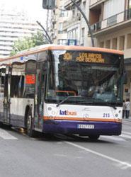 La ciudad de Murcia se sitúa como líder nacional en aumento de viajeros en autobús urbano