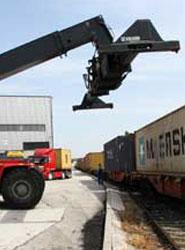 Tibbett Logística ahora opera tres servicios de tren en cada bloque semanal entre Bucarest y el Puerto de Constanza.