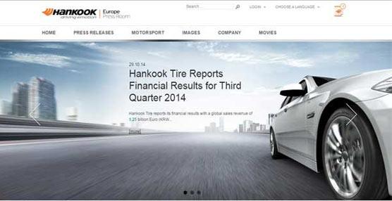 Hankook estrena plataforma multimedia para los medios de comunicación