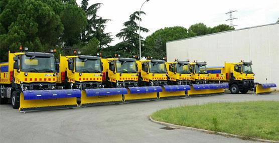 La Generalitat de Cataluña adquiere 14 camiones Renault Truck para realizar trabajos con las quitanieves