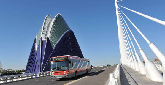 EMT Valencia registra su mejor octubre de los últimos seis años, con 8.235.000 pasajeros transportados