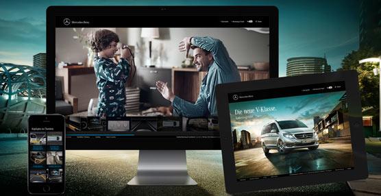 Éxito de las campañas publicitarias de Mercedes-Benz para el segmento de furgonetas