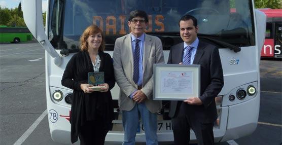 Interbus obtiene la certificación Zonas Cardio Norma ZC 12010 para su sede en Madrid y los autobuses de Daibus