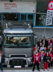 El francés Stéphane Saves gana la competición de eco-conducción Optifuel Challenge 2014 de Renault Trucks