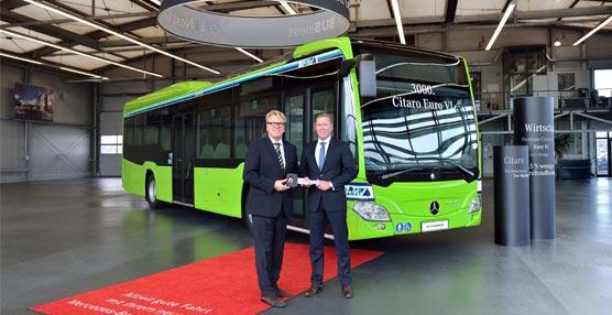 Mercedes-Benz hace entrega de su Citaro Euro 6 número 3.000, adquirido por Medenbach Traffic GmbH