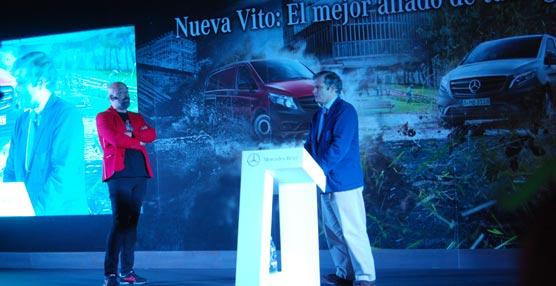 Mercedes-Benz Madrid organiza un evento en el Club de Golf Olivar de la Hinojosa para presentar su nueva furgoneta Vito