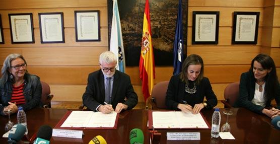 La Xunta y la Universidad de A Coruña firman un convenio sobre descuentos adicionales para estudiantes