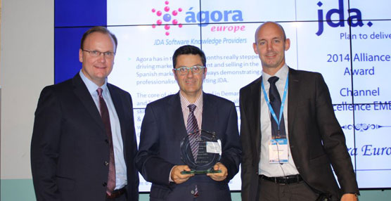 Agora Europe es reconocida como partner líder de JDA en los premios Partner Leadership Awards