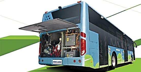King Long presenta su nuevo autobús híbrido E12, con consumos por debajo de los 26 litros/100 km en circuito urbano