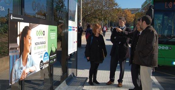 Se ha aprovechado la inauguración de la nueva parada para implementar mejoras visuales.