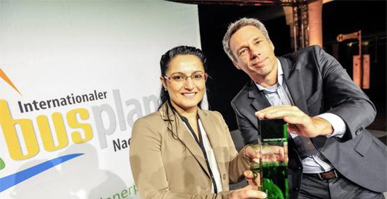 El sistema de navegación PPC del TopClass 500, premio a la sostenibilidad por the Huss