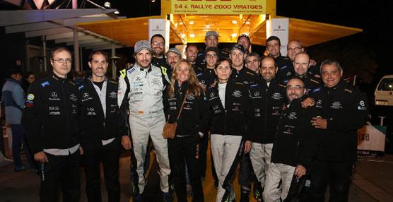 Sergi Giralt y el Mercedes Barcelona ECOteam, se alzan con el podio del campeonato de las ECOseries 2014