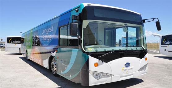 El aeropuerto de Sydney apuesta por los autobuses eléctricos
