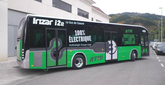 Irizarenvía a Marsella su autobús 100% eléctrico para una prueba de dos meses