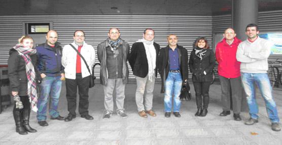 Dbus recibe en San Sebastián a una delegación de la Aglomeración Costa Vasca-Adour de Bayona