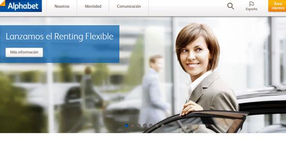 Alphabet lanza el Renting Flexible tanto para grandes empresas como para pymes y autónomos