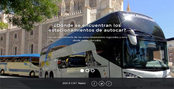 Madrid estrena un app para su nuevo Sistema de Estacionamiento de Autobuses