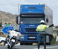 La Región de Murcia aborda este mes la última fase del Plan de Inspección de Transportes 2014