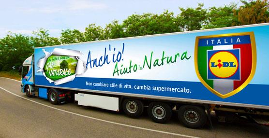 Supermercados Lidl elige a Iveco para disponer de la mayor flota de camiones de gas natural licuado de Italia