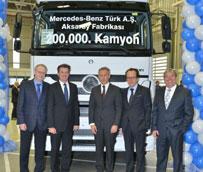 Mercedes-Benz Trucks produce el camión número 200.000 construido en la planta de Aksaray (Turquía)