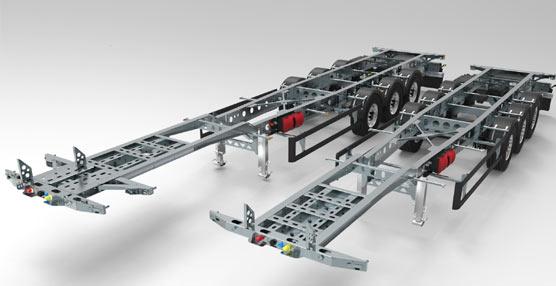 Grupo Guillén presenta su nuevo modelo de semirremolque porta contenedores de la serie X Light