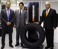 Los neumáticos Hankook de autobús equiparán los autobuses urbanos y la flota de camión ligero de la EMT de Madrid