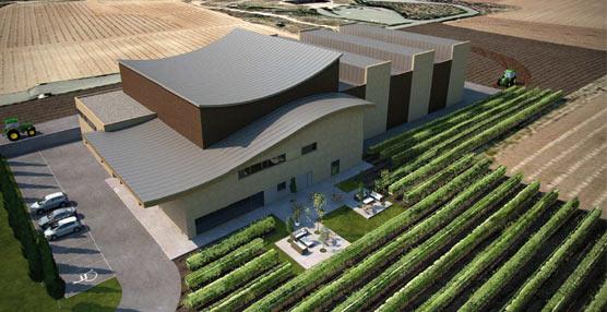 Inbisa Construcciónse hará cargo dela nueva bodeja de Viñedos de Aldeanueva en la Rioja
