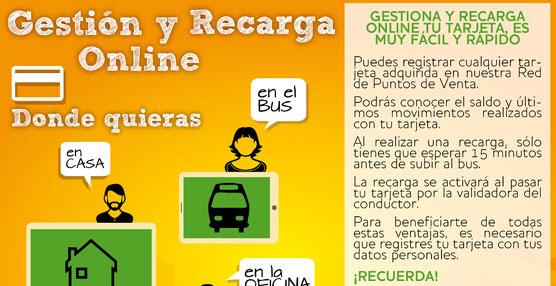 Aucorsa, Autobuses de Córdoba, presenta la nueva versión del servicio de Recarga 'online'