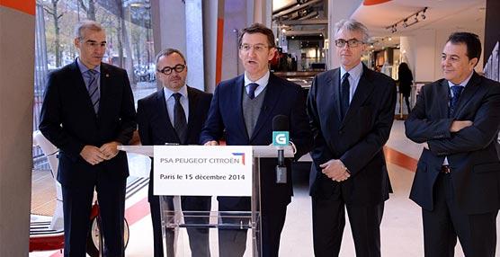 La dirección de PSA Peugeot Citroën informa a Núñez Feijóo la decisión de fabricar los nuevos K9 en Vigo