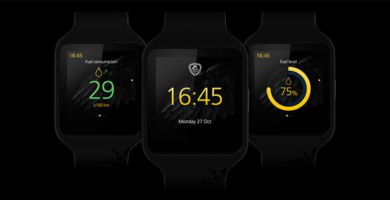 La tecnología portátil de Scania da un paso adelante con Scania Watch, desarrollado con Sony Mobile