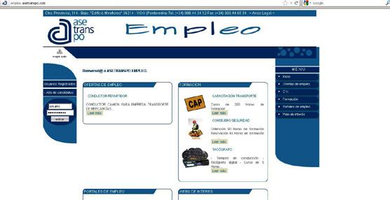 Asetranspo estrena un nuevo portal de empleo para ampliar sus servicios como Agencia de Colocación y Recolocación